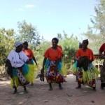 Mwenyenyo dance group