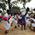 Masikisano dancers and drummers