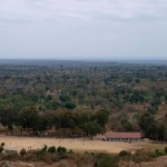Nzambani rock is a great viewpoint over the surrounding area of Kitui